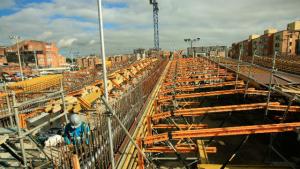 Obra de infraestructura - Foto: Alcaldía Mayor de Bogotá
