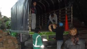 Incautada madera que era movilizada ilegalmente en Bogotá