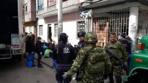Operativo contra el microtráfico en el Centro - FOTO: Prensa  Decimotercera Brigada del Ejército