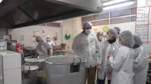 Visita delegación de Cali para conocer del PAE de Bogotá - Foto: Comunicaciones Secretaría de Educación