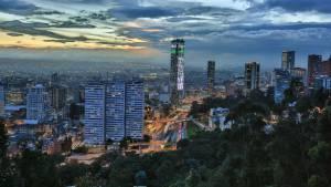 Panorámica de Bogotá al atardecer - Foto: Diego Bauman