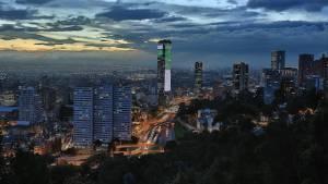 Panorámica nocturna de Bogotá - Foto: Diego Bauman