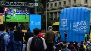 Celebración de partidos - FOTO: Prensa IDRD