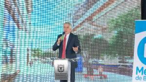 El alcalde Enrique Peñalosa agradeció al Concejo la aprobación de vigencias futuras para el Metro. Foto: Andrés Sandoval