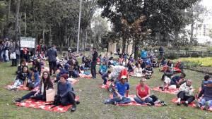 Picnic 'Bogotá al parque' - FOTO: Consejería de Comunicaciones