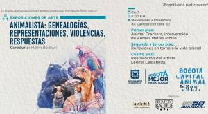 Exposición animalista- FOTO: Prensa IDPAC