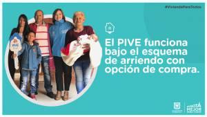 PIVE, beneficiará a 500 familias en Bogotá - Foto: Secretaría de Hábitat