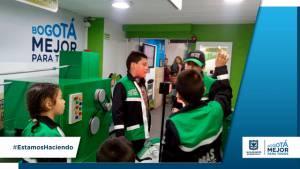 Cerca de 1.000 hijos de recicladores se beneficiaron de jornadas recreativas - Foto: UAESP