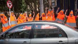 'El Poder del Cono' se llegó a 23.888 conductores a través de la acción lúdica en calle - Foto: Comunicaciones Alcaldía