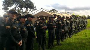Policías por un día - FOTO: Prensa MEBOG