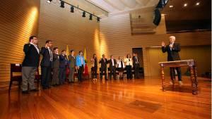 Posesión alcaldes locales - Foto: Prensa Alcaldía Mayor de Bogotá / Diego Bauman