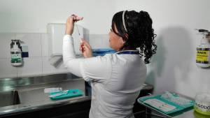 Quienes vayan a Europa vacunarse contra el sarampión ya - Foto: Secretaría de Salud