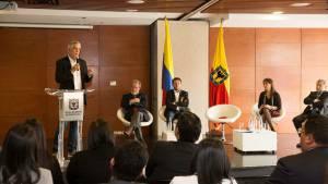 Presentación estampilla universidades- Foto: Comunicaciones Alcaldía Bogotá / Diego Bauman