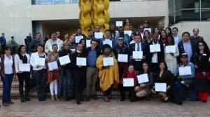 Reconocimiento a lideres - FOTO: Prensa Secretaría de Gobierno