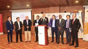 Presentación propuesta a candidatos presidenciales  - Foto: Comunicaciones Alcaldía Bogotá / Diego Bauman
