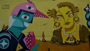 Distrito Grafiti. Foto: Secretaría de Cultura