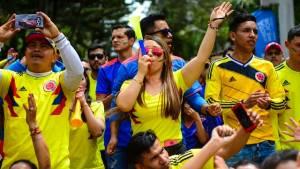 Recibimiento Selección Colombia - FOTO: Consejería de Comunicaciones