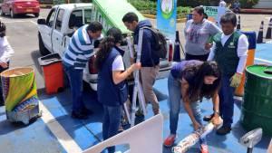 Más de 120 toneladas de desechos peligrosos se han recolectados con la 'Reciclatón' en Bogotá