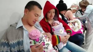 Recién nacidos - Foto: Secretaría de Salud