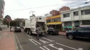 Recolección de basuras en Bogotá - Foto: Alcaldía Bogotá