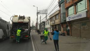 Normalización de recolección de basuras en Bogotá - Foto: Alcaldía de Bogotá