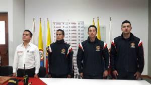 Bomberos de Bogotá reciben reconocimiento. Foto: Prensa Bomberos