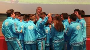 Reconocimiento a deportistas bogotanos - Foto: Comunicaciones Alcaldía Bogotá / Diego Bauman