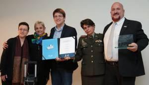 Reconocimiento derechos de las mujeres - FOTO: Premsa Secretaría de Gobierno.