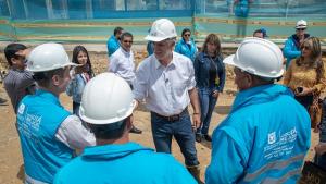 Obras viales e intervención de parques en Puente Aranda
