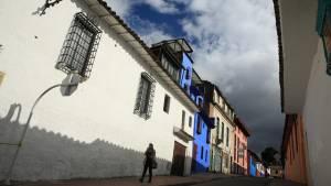 Fachadas y vías se recuperan en el centro de Bogotá.