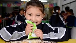 Para los refrigerios escolares de niños y niñas de Bogotá, la Alcaldía inverte  470.000 millones de pesos anuales