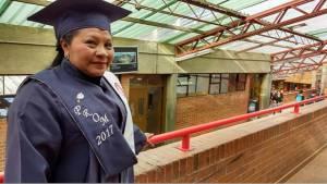 Graduacion estudiante modelo de educación flexible - Foto: Comunicaciones Secretaría de Educación