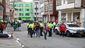 Operativo de restablecimiento de derechos de menores - FOTO: Prensa Secretaría de Seguridad