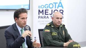 Restricción a parrillero hombre reduce el hurto en Bogotá - Foto: Secretaría de Seguridad