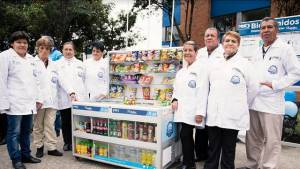 Vendedores informales reubicados en Bogotá - Foto: Comunicaciones IPES