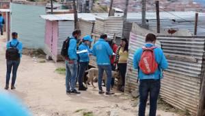 Asentamientos en el barrio Caracolí de Ciudad Bolívar -  Foto: Caja de Vivienda Popular