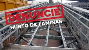 El IDU invita a denunciar el robo de láminas de los puentes peatonales.