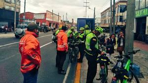 Captura de banda dedicada al robo de bicicletas - Foto: Secretaría de Seguridad