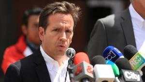 Daniel Mejía, secretario de Seguridad, reiteró que ningún ciudadano puede tomarse las vías de hecho.