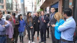 Éncuentro con comerciantes de la ciudad - Foto: Comunicaciones Secretaría de Desarrollo Ecónomico