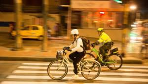 seguridad Ciclovía nocturna - FOTO: Consejería de Comunicaciones