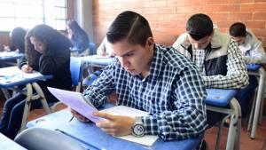 Simulacro puebas SABER 11 colegios de Bogotá - Foto: Prensa Secretaría de Educación