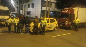 Taxistas - FOTO: Prensa Mebog
