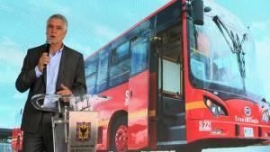 Desde este lunes, 5 de junio, comienza a circular en TransMilenio el primer articulado 100% eléctrico.