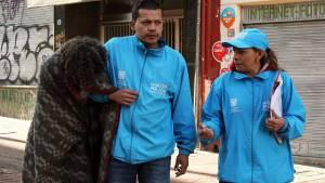 Distrito no prohíbe donaciones para habitantes de calle - Foto: Secretaría de Integración Social