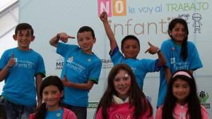 Alcaldía Peñalosa trabaja para la erradicación del trabajo infantil.