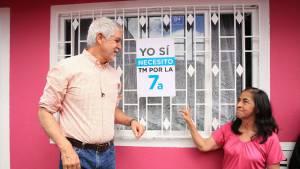 Habitantes piden TransMilenio por la Séptima - Foto: Alcaldía Mayor Bogotá/Andrés Sandoval