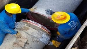 Tubería Suba - FOTO: Prensa Acueducto de Bogotá