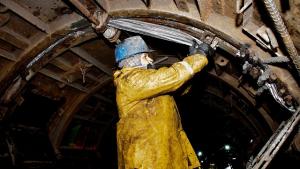 Obras de revestimiento túneles de Chingaza - Foto: Comunicaciones EEAB