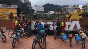 Nueva ruta de turismo en bici- FOTO: Prensa IDT